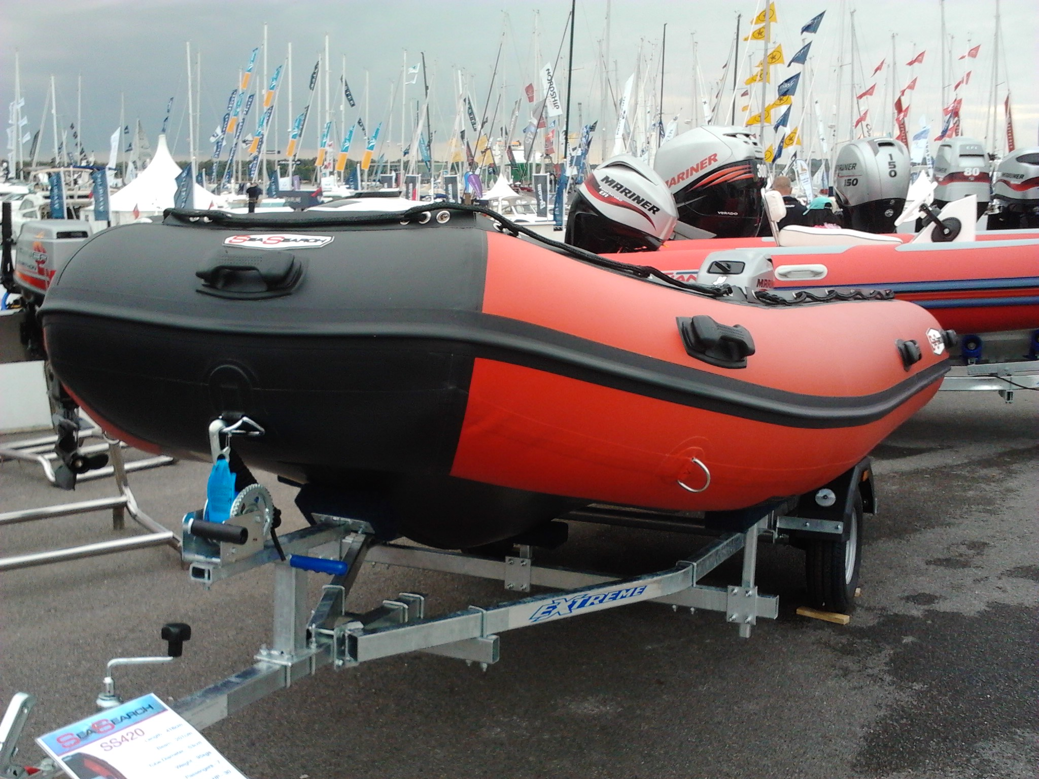 Inflatable Boats from Sea Eagle. 6 models available ...
