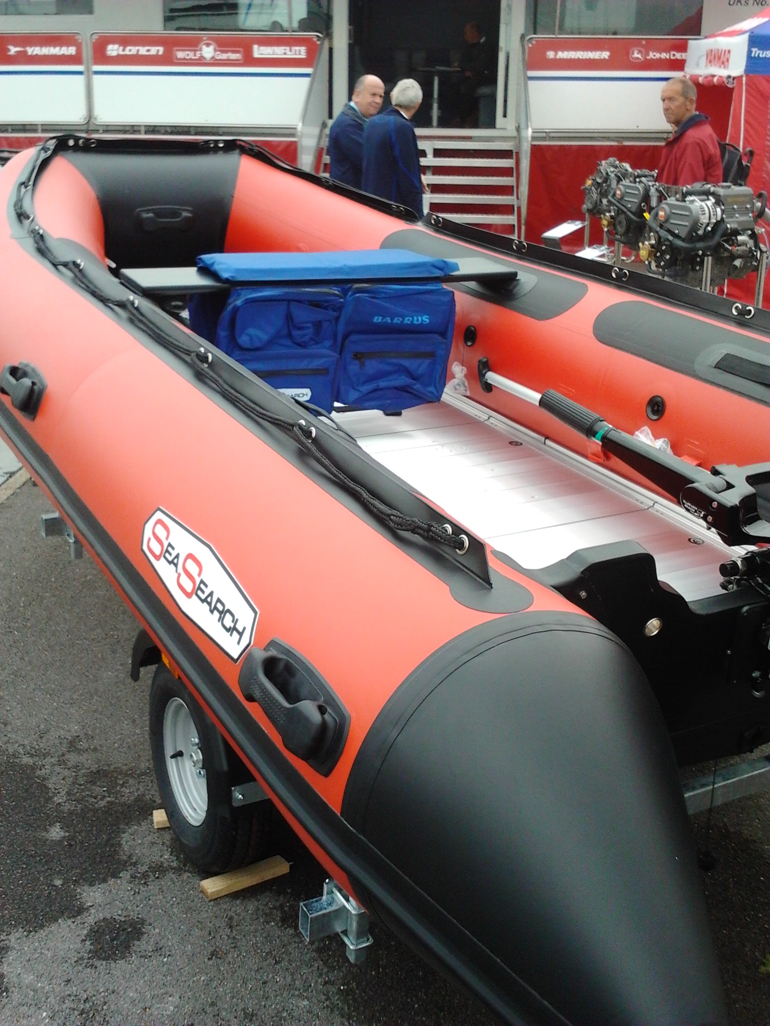Drifting inflatable puffin sparks major sea and air search ...